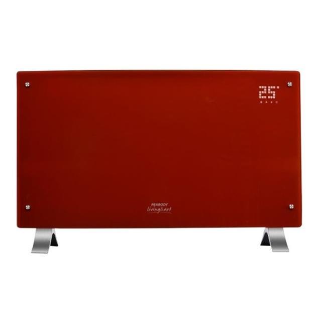Vitroconvector Peabody 2000 W Digital Rojo (PE-VQD20R)