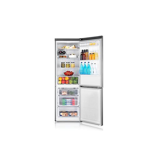 Heladera Samsung No Frost 335 Lts Inverter Acero (Sarb33k3210ss)